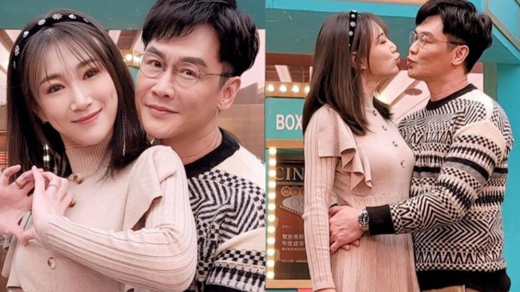 沈世朋、李新結婚10年。(圖/翻攝自李新臉書) 見面3次就閃婚!本土劇男星遭岳母抓包「驚人情史」