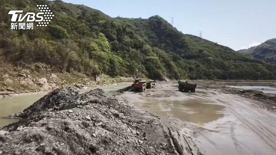 (圖/TVBS資料畫面) 石門水庫蓄水低於4成 鄭文燦:桃園不排除限水