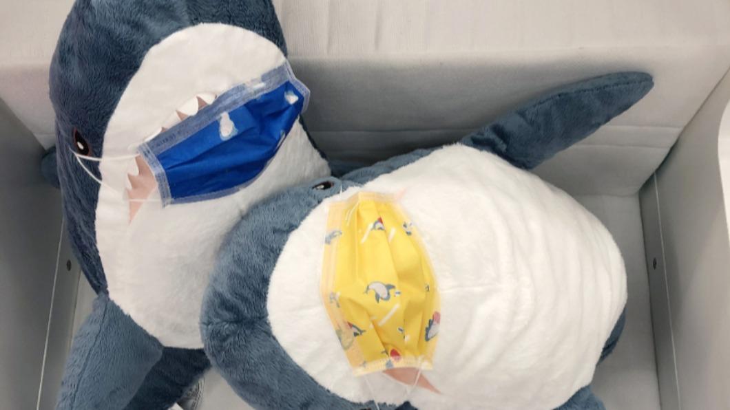 IKEA自25日起開始販售INBJUDEN限量系列的春季傢俱,滿額可獲得鯊魚口罩。(圖/IKEA) IKEA鯊魚口罩贈送法曝 寶雅推限量春天絕美款