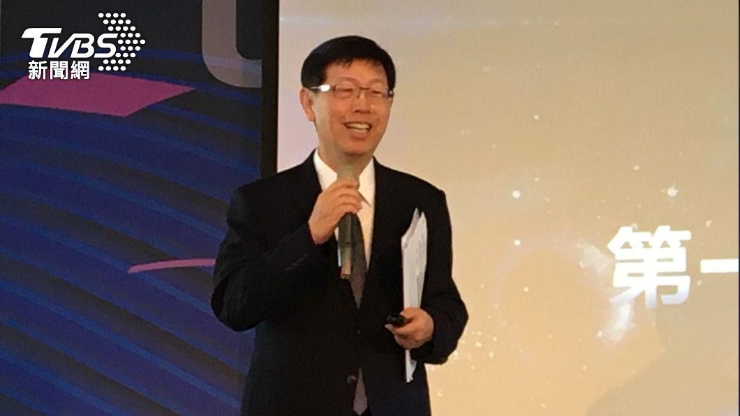 鴻海集團董事長劉揚偉。(圖/中央社) MIH聯盟逾1200家廠商 劉揚偉:掌握3原則攻電動車