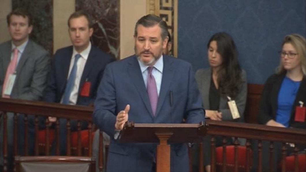 美參議員克魯茲提「ROC法案」 要求美國正確對待台灣