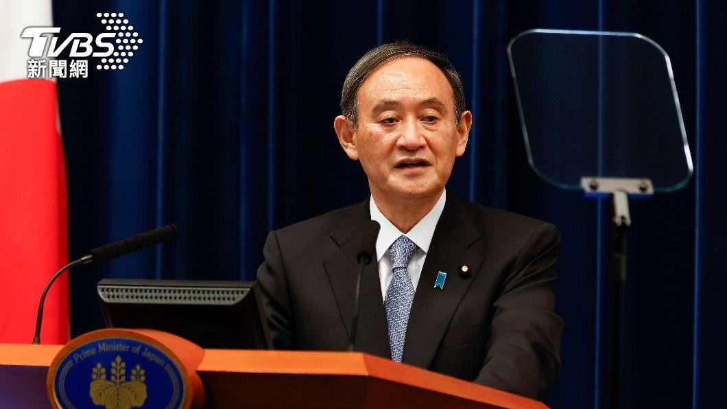 日本首相菅義偉。(圖/達志影像路透社) 菅義偉4月訪拜登 美日擬重申台海和平安定重要性