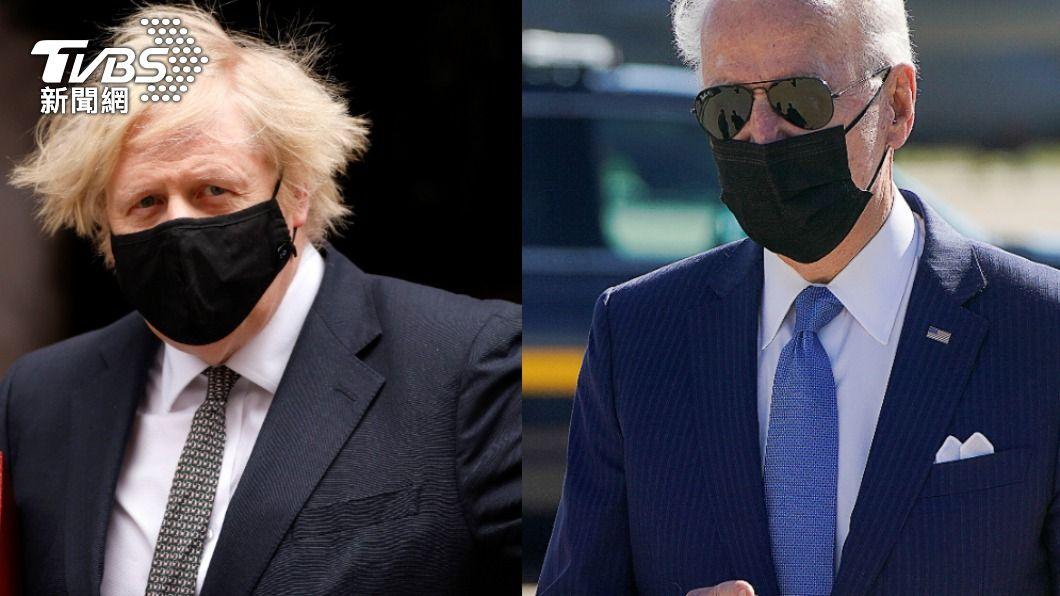 拜登今(27)日與英國首相強森通話,談及發起民主版一帶一路計畫。(圖/達志影像路透社) 拜登致電強森 籲發起民主版一帶一路抗陸