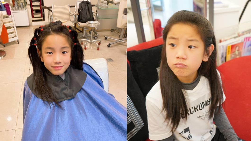 敏睿留了長達兩年多的頭髮。(圖/翻攝自「台灣癌症基金會~熱愛生命攜手抗癌」粉專) 無畏被當妹妹 小帥弟堅持「蓄髮2年」真相曝惹鼻酸