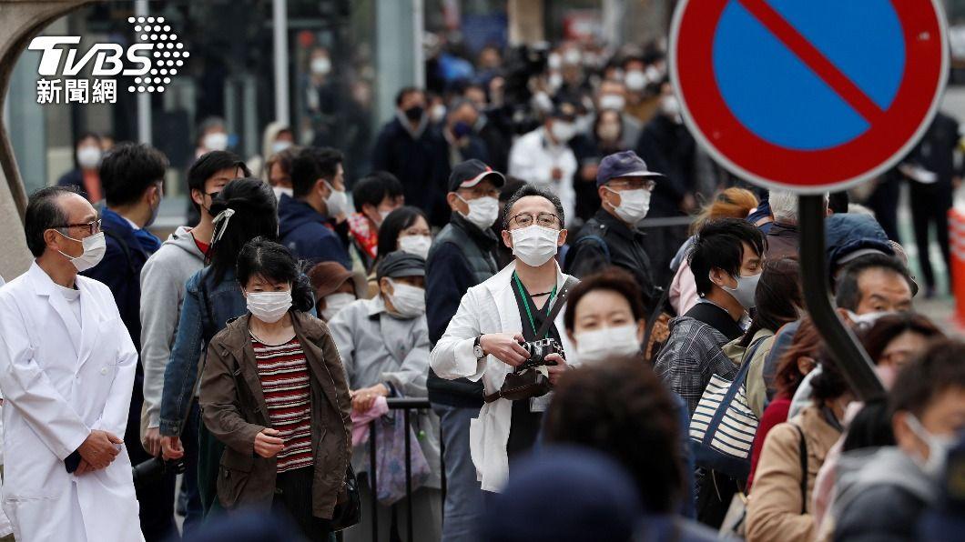 日本解除緊急事態宣言一週,不過各地疫情卻逐漸升溫,疑出現第四波疫情。(圖/達志影像路透社) 日本恐爆第4波疫情 中央地方繃緊神經因應