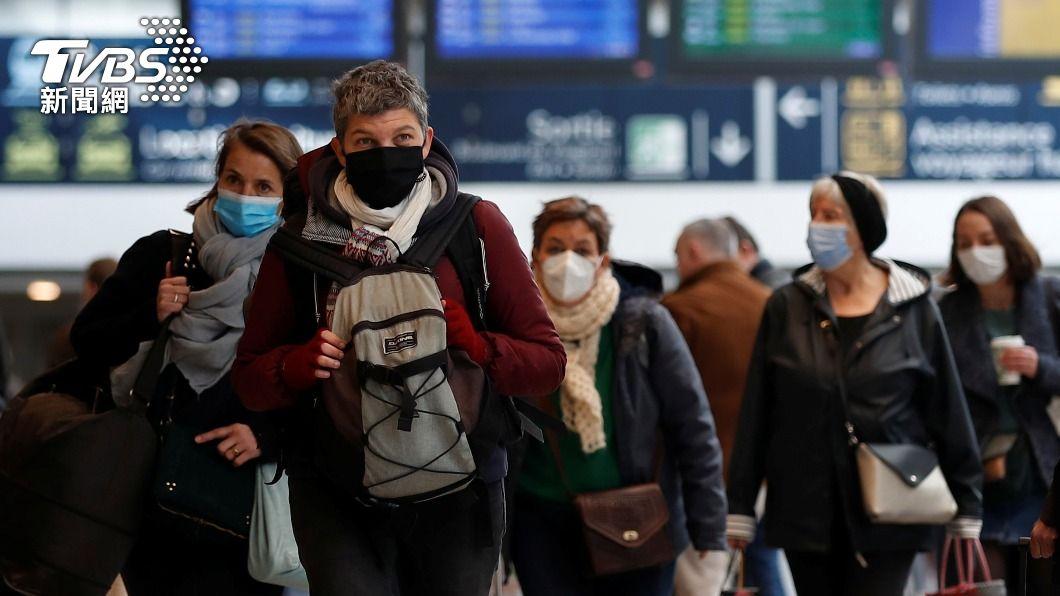 圖/達志影像路透社 法國COVID-19疫情不止 確診數超越俄國成全球第4
