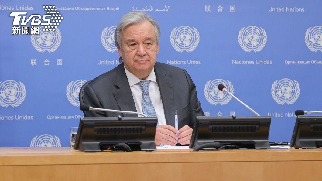 聯合國祕書長古特瑞斯。(圖/達志影像美聯社) 聯合國與大陸進行磋商 尋求不受限制造訪新疆