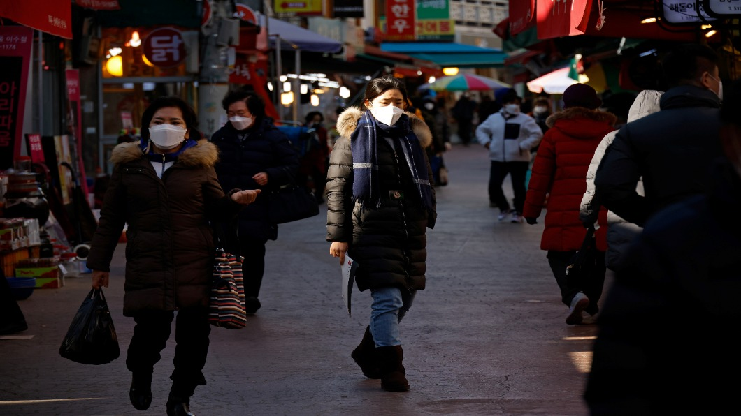 圖/達志影像路透 無須醫生證明!南韓4月起可休「疫苗假」