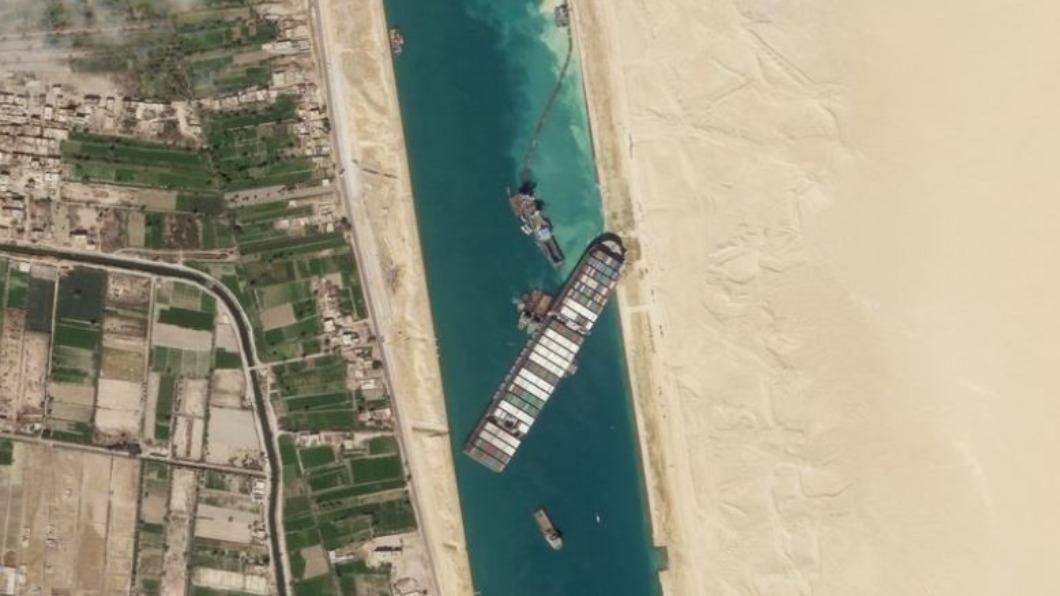 埃及正式扣押「長賜號」 先賠260億才放行