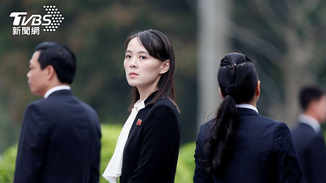 北韓領導人金正恩胞妹金與正。(圖/達志影像路透社) 文在寅回應北韓試射飛彈 金與正:流氓邏輯又無恥