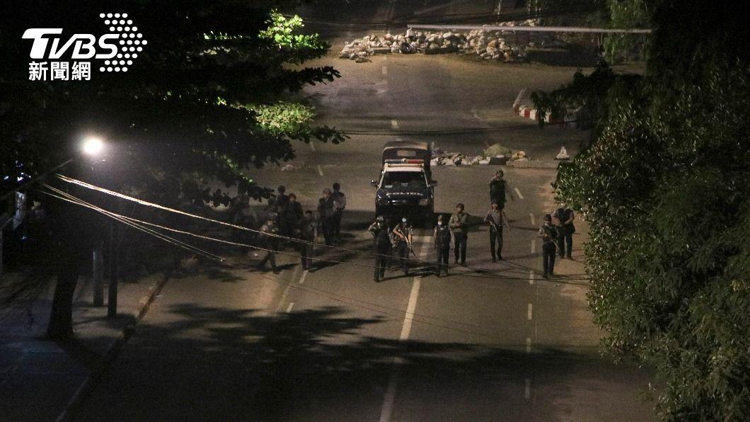 (圖/達志影像美聯社) 翻轉暴力統治 聯合國籲全球對緬甸軍政府施壓