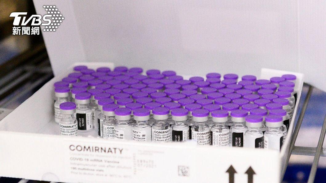 (圖/達志影像美聯社) 美CDC試驗:輝瑞莫德納疫苗效力90% 無症也能防
