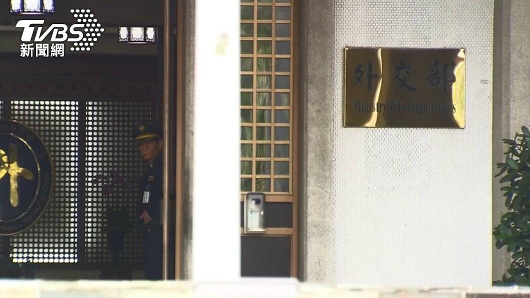 圖為外交部。(圖/TVBS) 駐印度代表處1確診人員返台治療 專機今晚抵台