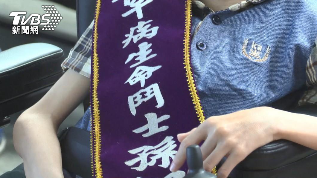 圖/TVBS 11歲童僅12公斤!全國唯一不知名罕病 孫翊倫獲熱愛生命獎章