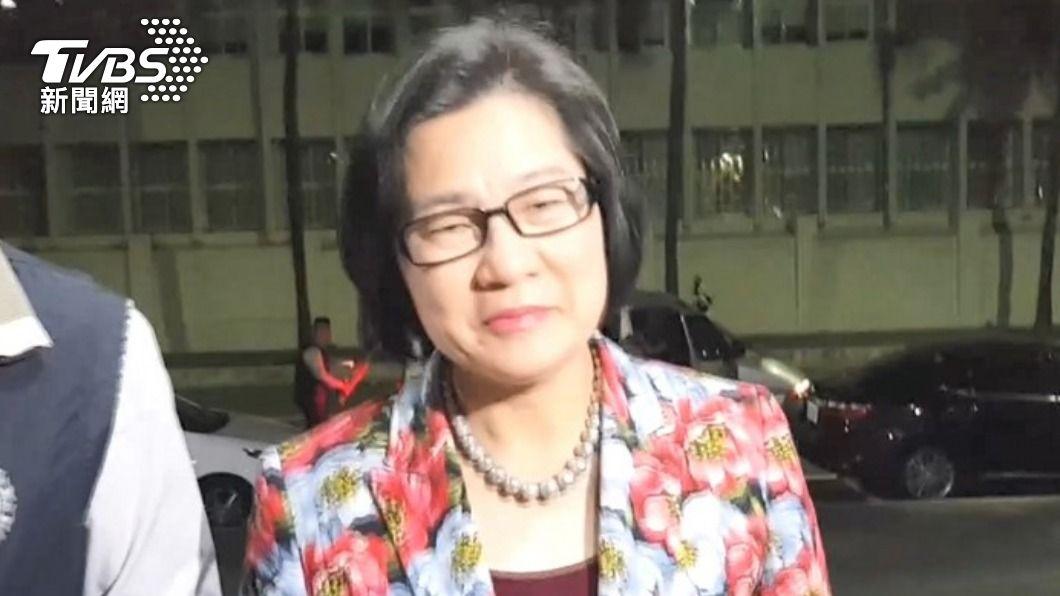誠美材前副董事長葉美麗。(圖/TVBS資料畫面) 誠美材前副董葉美麗涉掏空2億遭起訴 蘇震清獲不起訴