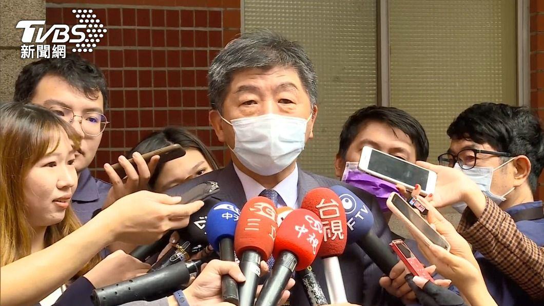 衛福部長陳時中。(圖/TVBS) 北市長選戰網路聲量奪冠 陳時中:因大家關心疫苗
