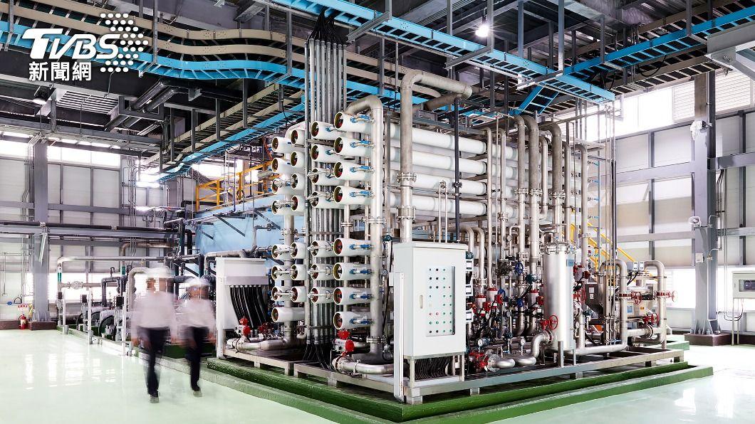 奇美實業將啟動再生水系統。(圖/中央社) 奇美實業啟用再生水系統 轉化工業廢水日產3千噸