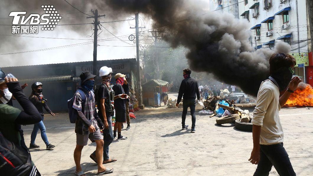(圖/達志影像美聯社) 逾500平民遇害 專家:緬甸已在「失敗國家」邊緣