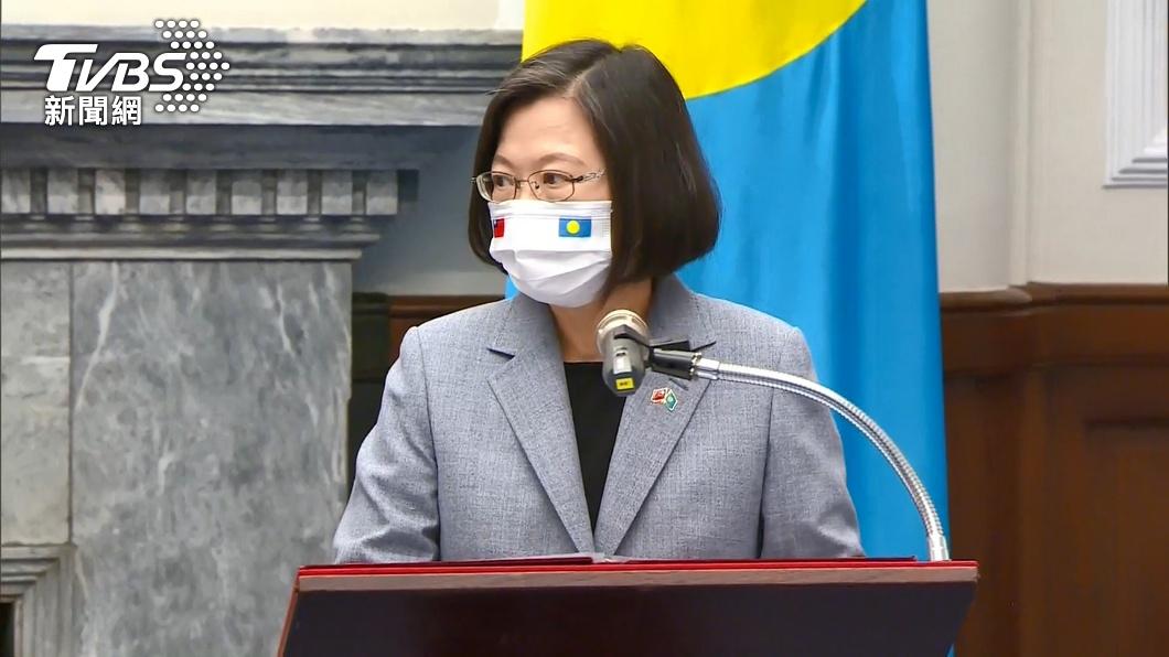 台帛元首會晤! 美帛琉大使謹守外交禮儀未出席