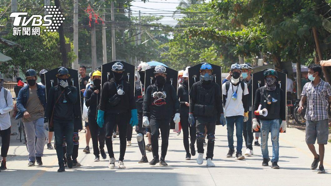 (圖/達志影像美聯社) 緬甸政變迄今逾500死 美國務院下令非緊急人員撤離