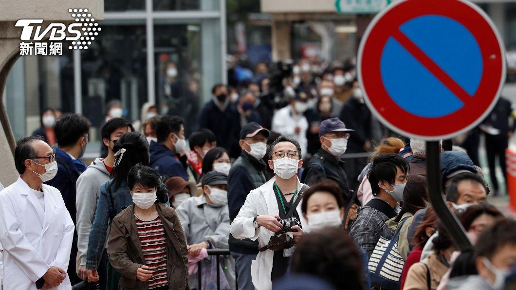 (圖/達志影像路透社) 日本新增2087例新冠確診 關西疫情急速擴散