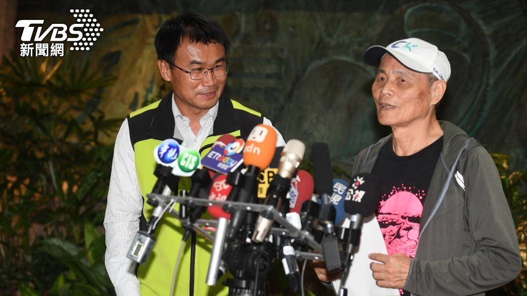 (圖/中央社) 藻礁公投聯盟會面陳吉仲 潘忠政:目前無共識