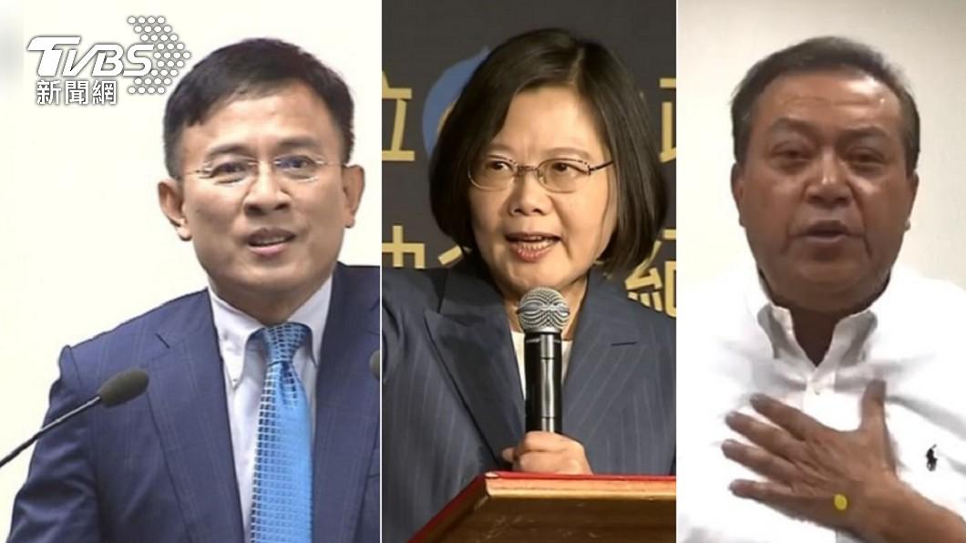 彭文正因指控蔡英文偽造學歷被起訴。(圖/TVBS) 彭文正被起訴 藍委批北檢「可恥」:向威權低頭!