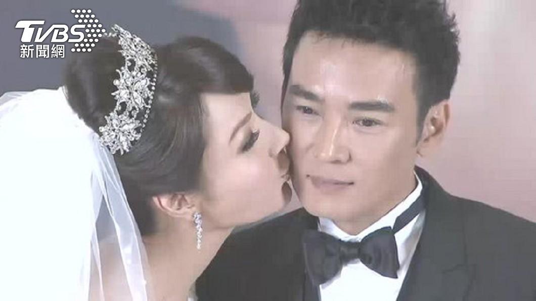 焦恩俊和林千鈺2014年結婚。(圖/TVBS資料畫面) 林千鈺脫口7年婚是業障 焦恩俊動怒:不是和平分開?