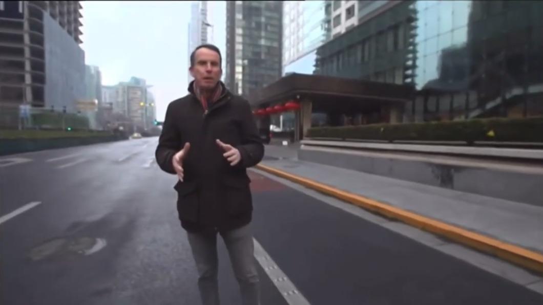 (圖/翻攝自John Sudworth YouTube頻道網頁) BBC駐北京記者前往台灣 稱受到威脅趨烈