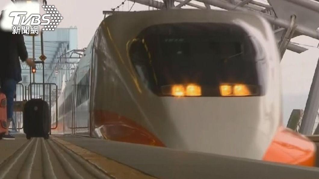 (圖/TVBS) 疏運清明連假旅客人潮 高鐵加開2班南下全自由座列車