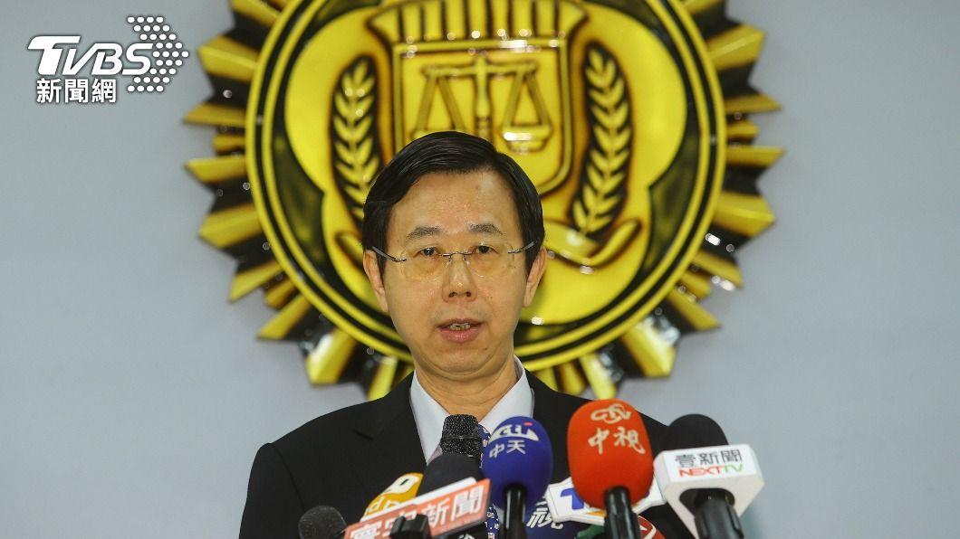 調查局長呂文忠。(圖/中央社) 航基站搞丟6.5公斤安毒 調查局長呂文忠致歉