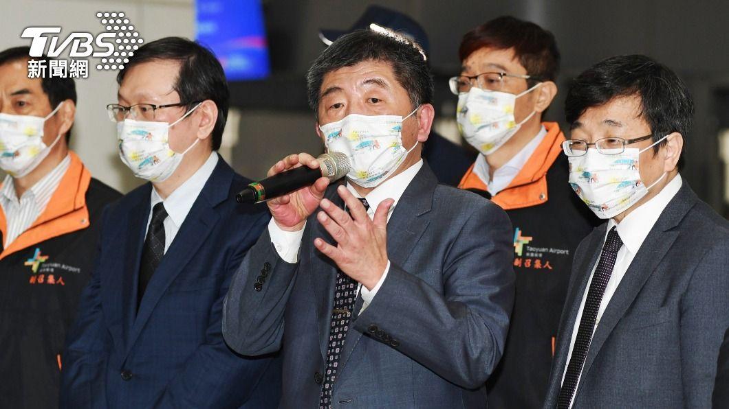 (圖/中央社) 台帛旅遊泡泡首發團 123人檢驗全數陰性如期出發