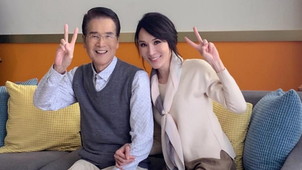 林千鈺宣布和焦恩俊離婚,父親石英表示尊重。(圖/翻攝自林千鈺臉書) 林千鈺「瞞離婚焦恩俊」全為長輩 78歲石英說話了