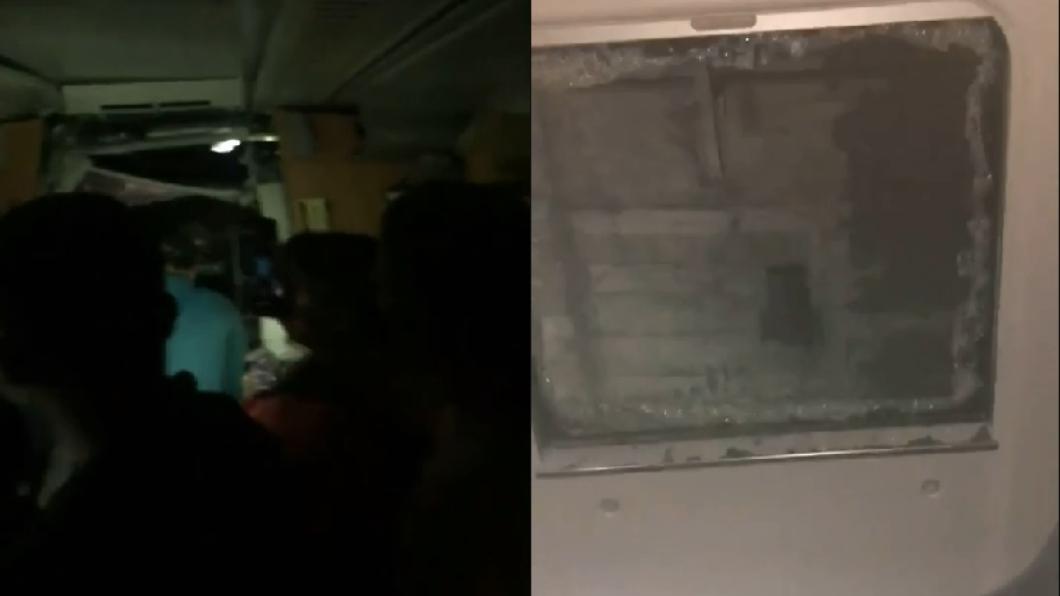 台鐵太魯閣號驚傳在花蓮出軌。(圖/翻攝自網路) 連假才開始!太魯閣號出軌 乘客「濺血爬窗」逃生
