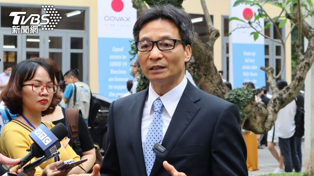 越南副總理武德儋。(圖/中央社) 越台旅遊泡泡 越南副總理:疫情獲控後再思考