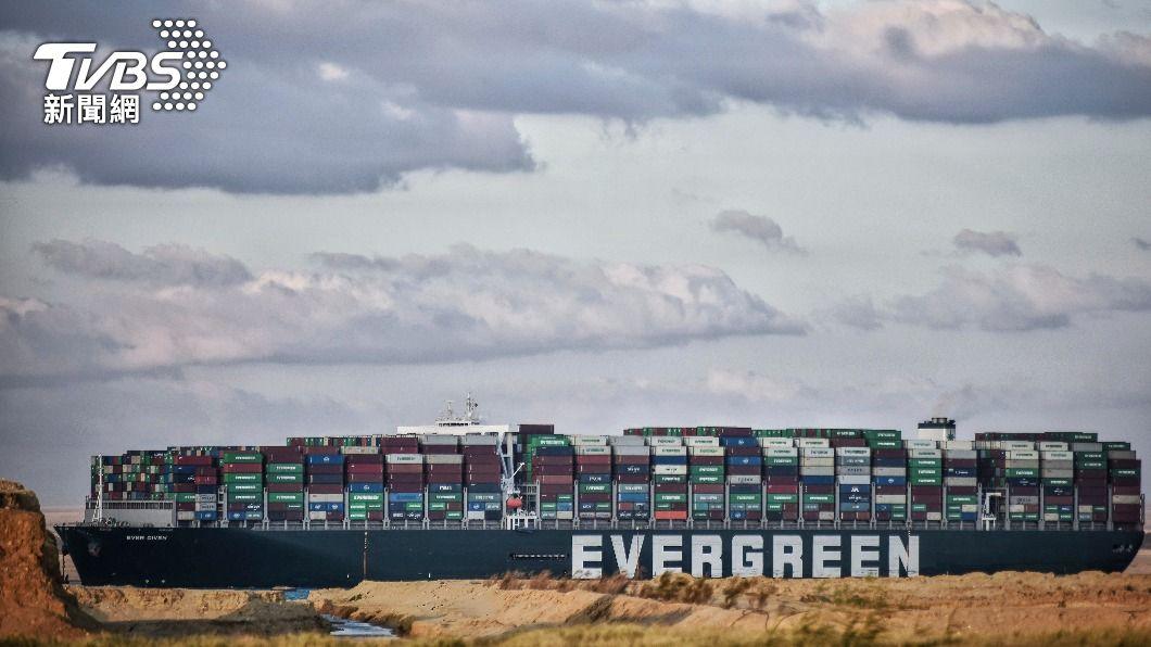 (圖/達志影像美聯社) 長賜輪擱淺意外 日本船東正榮汽船與今治市受關注