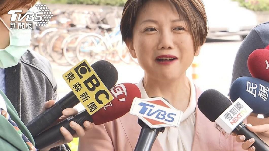 民進黨立委范雲。(圖/TVBS資料畫面) 3+11成破口? 范雲被罵翻:沒妳就沒今天180例
