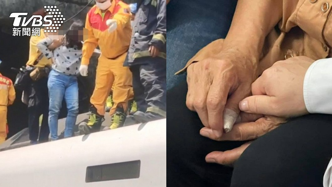 台鐵408車次太魯閣號發生重大傷亡意外。(圖/TVBS、翻攝自盧秀燕Facebook) 33歲司機殉職 老母聞噩耗心碎「希望兒子沒有痛」