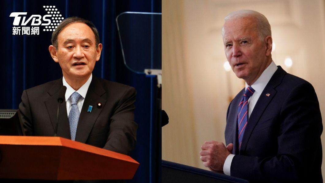 總統拜登16日將在華府接待來訪的日本首相菅義偉。(圖/達志影像路透社) 菅義偉成首位面見拜登外國元首 白宮:16日會談
