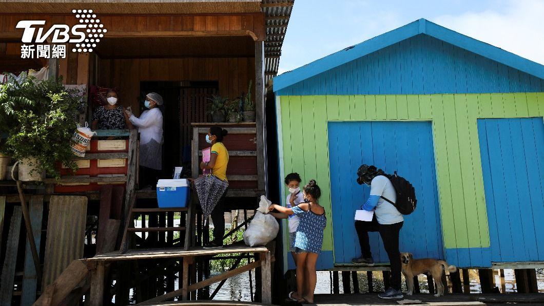 巴西受疫情影響,造成通貨膨脹、失業率攀升,恐重反飢餓地圖。(圖/達志影像路透社) 新冠疫情加劇失業率攀升 巴西恐重回飢餓地圖