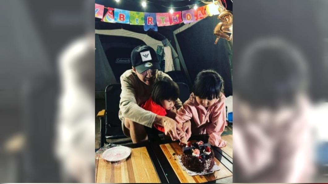 圖/翻攝自chiang111222 IG 快訊/福原愛未回台 江宏傑獨自為2歲兒慶生