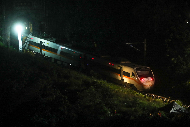 圖/中央社 陰錯陽差搭上死亡列車 返鄉掃墓一家4口3人喪生