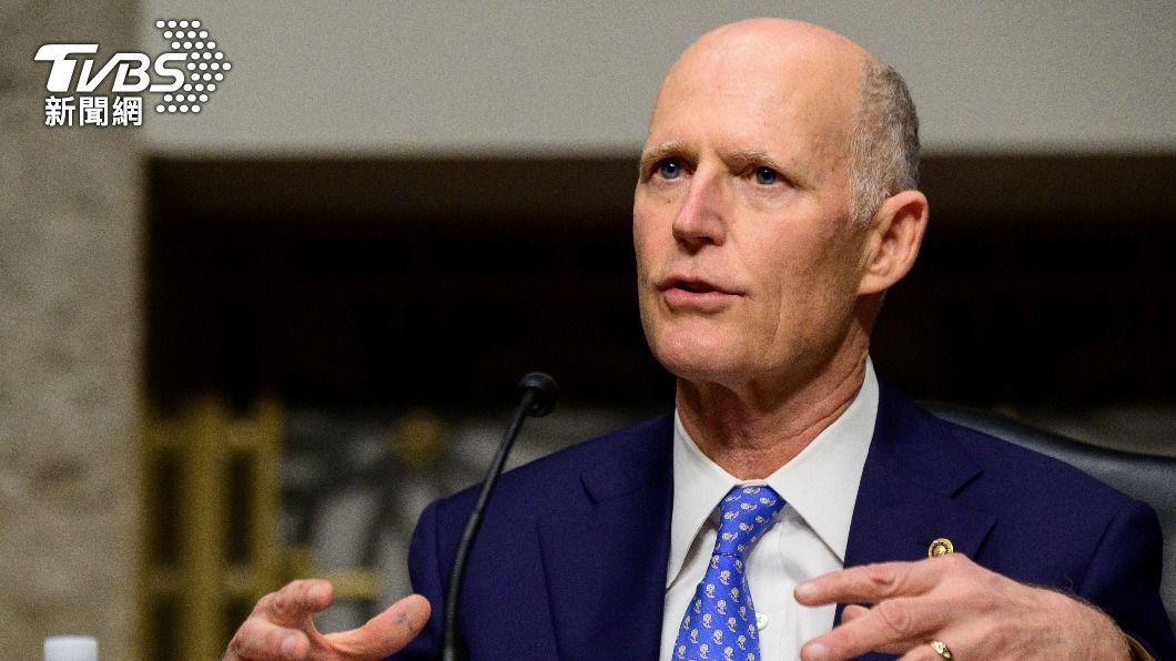 美國參議員史考特呼籲拜登聯合盟友遏止大陸擴張,以保護台灣。(圖/達志影像路透社) 憂成下個香港 美議員投書籲拜登聯合盟友護台灣