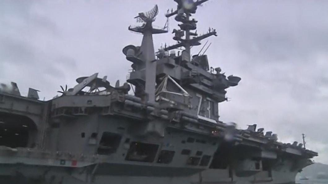 劍指中國大陸 美航母群第三度南海巡航