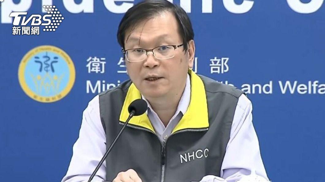 中央流行疫情指揮中心發言人莊人祥。(圖/TVBS) 新增1例境外移入 20多歲女性自日本入境