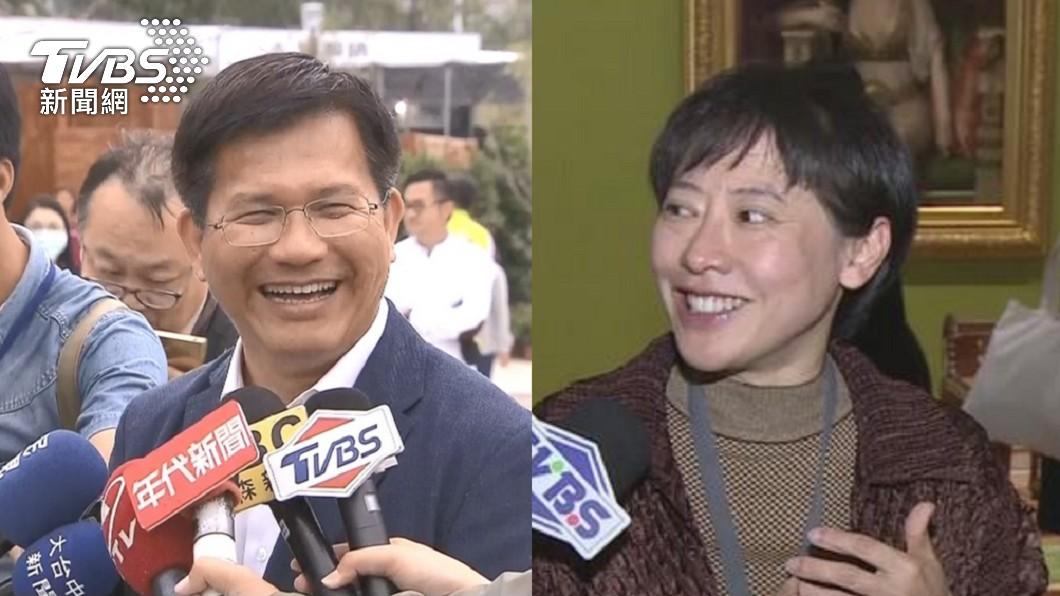 林佳龍和妻子廖婉如。(圖/TVBS資料畫面) 2年存款增2452萬! 林佳龍夫婦「身家近3億」