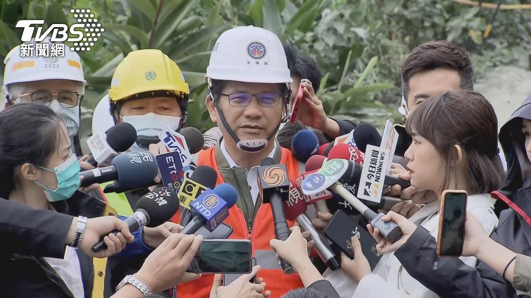 圖/TVBS 辭意堅決!林佳龍打包「以具體行動負起責任」:不接受慰留
