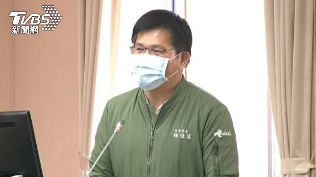 交通部長林佳龍今赴立院報告。(圖/TVBS) 已向蘇揆提書面辭呈 林佳龍3度致歉:承擔一切責任
