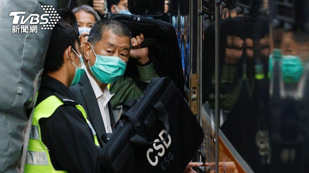 香港壹傳媒集團創辦人黎智英。(圖/達志影像路透社) 香港法院審反送中違法集結案 黎智英等人突然認罪
