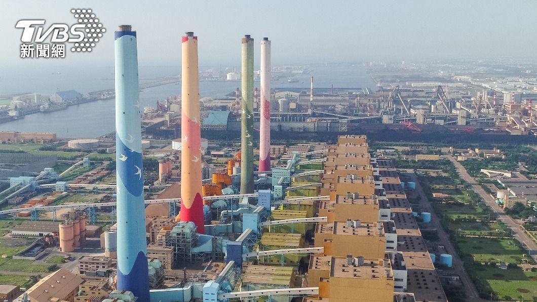 台中火力發電廠。(圖/中央社) 中火3號機重啟投煤發電 中市府重罰2千萬元